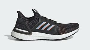 billig Details about Adidas Running Ultra Boost 19 Black Multicolour Men Ultraboost gym shoes G54011
