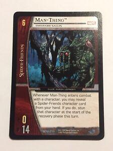 2007 Marvel Upper Deck Trading Card MTU-011 Man-Thing Theodore Sallis