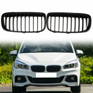 Front-Kidney-Grill-Fit-For-2014-2017-BMW-2-Series-F45-Active-Tourer-Pre-facelift
