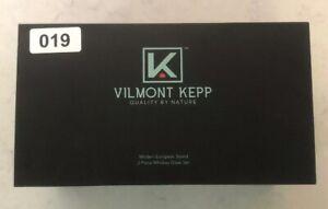 NIB-Vilmont-Kepp-Modern-European-Styled-2-Piece-Whiskey-Glass-Set-NEW