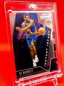 2019-20 RJ Barret # 22 Rookie Panini Instant Impact Prizm Insert New York Knicks