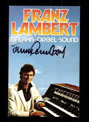 Sammeln & Seltenes Unparteiisch Franz Lambert Autogrammkarte Original Signiert ## Bc 96150