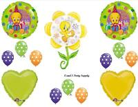 Tweety Bird And Flower Birthday Party Balloons Decorations Supplies