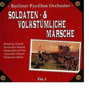 BERLINER-PAVILLON-ORCHESTER-034-Soldaten-amp-Volkstuemliche-Maersche-Vol-1-034-OVP-NEU