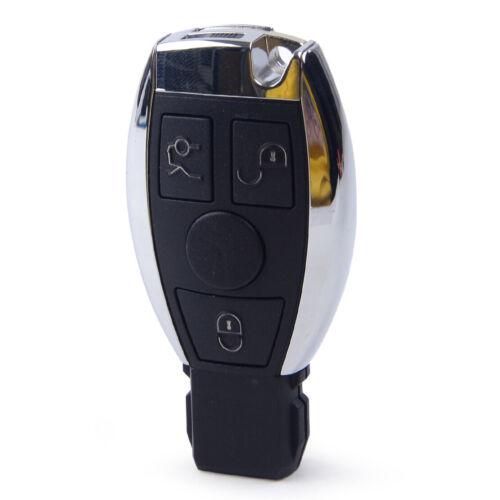 3Tasten Funkschlüssel 433MHz Chip Fit 2000-17 Mercedes-Klasse CLK SLK ML-Klassen