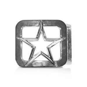Sonnig Reptile's House Gürtelschließe Star Silber Gürtelschnallen