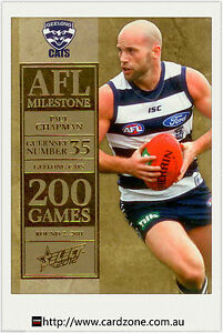 2012-Select-AFL-Champions-Milestone-Card-MG30-Jimmy-Bartel-Geelong