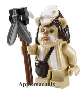 Lego STAR WARS-EWOK FIGURE LOGRAY from Ewok Village Set 7956 /& 10236