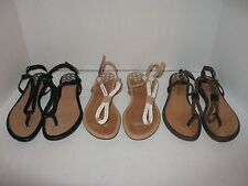 Sperry Top-Sider Lacie 3 pairs: Sand/Ivory, Black and Brown/Bronze Rope Sandals