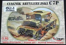 1/35 WWII Polish C7P Tracked Heavy Artillery Tractor - Mirage 35901