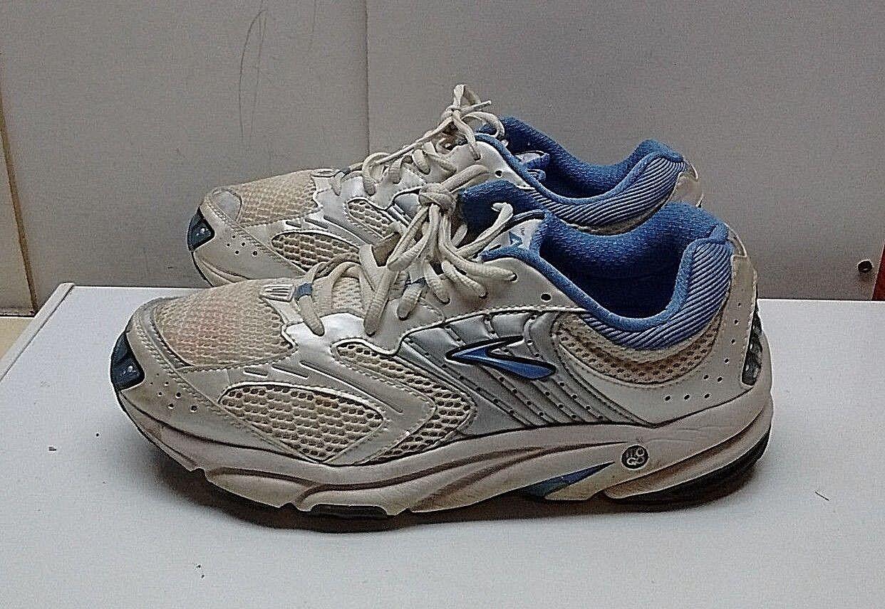 Brooks Brooks Brooks Ariel Mujeres Sintético blancoo Azul Encaje Zapatillas Zapatos Correr 10.5 (2E) 42.5  mejor vendido