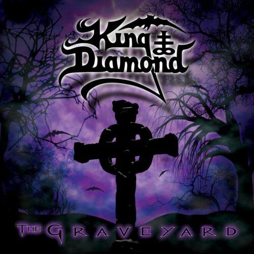 KING DIAMOND The Graveyard BANNER HUGE 4X4 Ft Fabric Poster Tapestry Flag art