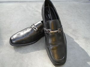 Bostonian Limada Black New Men 11 1/2 M Round Toe Loafer Leather Slip On