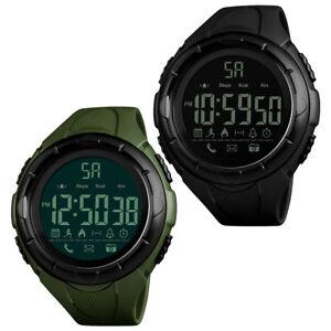 SKMEI-LCD-Men-039-s-Waterproof-Sport-Army-Alarm-Date-Analog-Digital-Wrist-Watch
