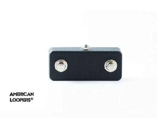 American Loopers Aux Switch For Nemesis Delay or Ventris Source Audio Click Less