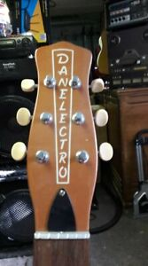 Danelectro-DC-2-korean-neck-copper-for-project-pull-off-lot-of-1-RARE
