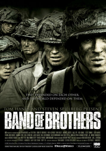 Band of Brothers Giant Poster Art A0 A1 A2 A3 A4 Sizes Available