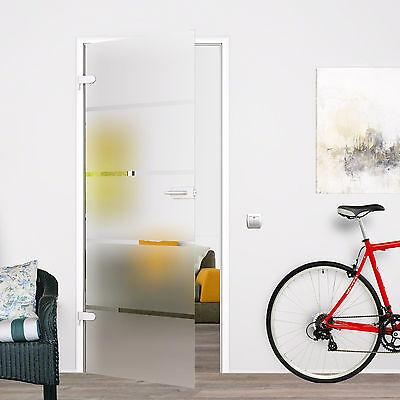Zimmertür Glastür Ganzglastür Siebdruck DIN Rechs 709x1972 P1-709SSR