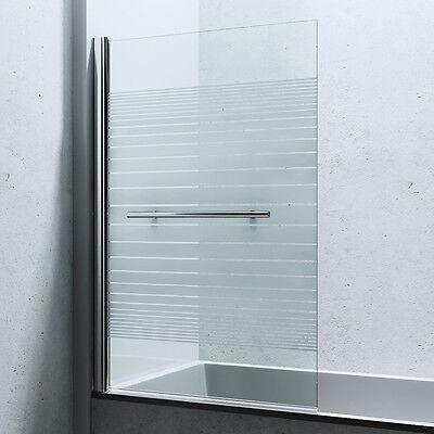 Dusche Duschabtrennung Badewannenaufsatz Faltwand Duschwand Glaswand Cortona