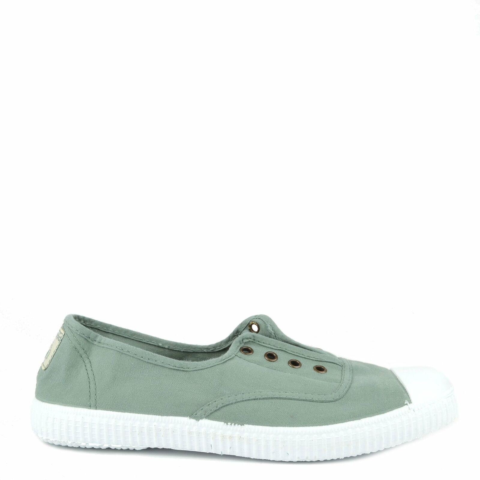 Victoria shoes Dora Jade Canvas Plimsoll