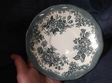 """VINTAGE BLUE TRANSFER SAUCER WEDGWOOD ASIATIC PHEASANTS GREAT CONDITION 6.5"""""""