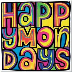Happy Mondays - Dayglo Logo Magnet Aimant Rock Off