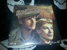 King Solomon's Mines Laserdisc Stewart Granger Deborah Kerr Free Ship $30 Orders