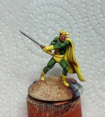 25mm 28mm Ben Dipinti Marvel Comics Loki Thor Cattivo Champions Super Eroe-mostra Il Titolo Originale Squisita (In) Esecuzione