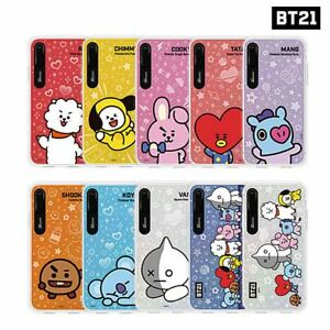 newest 1bae2 10f16 Details about BTS BT21 Official Goods Basic Graphic Light UP Case for iPhone