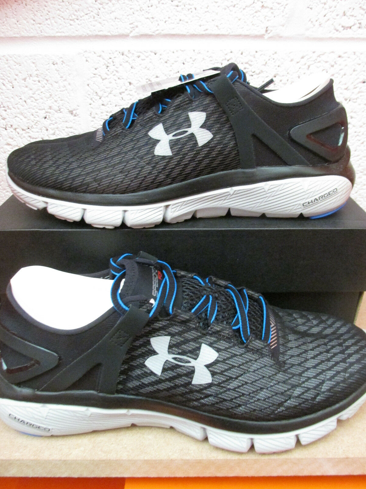 Under Armour UA Speedform Fortis Night Running Trainers 1265571 001 Sneakers