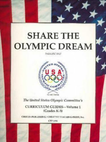 Share the Olympic Dream, Paperback, Like New Used, Free shipping in the US