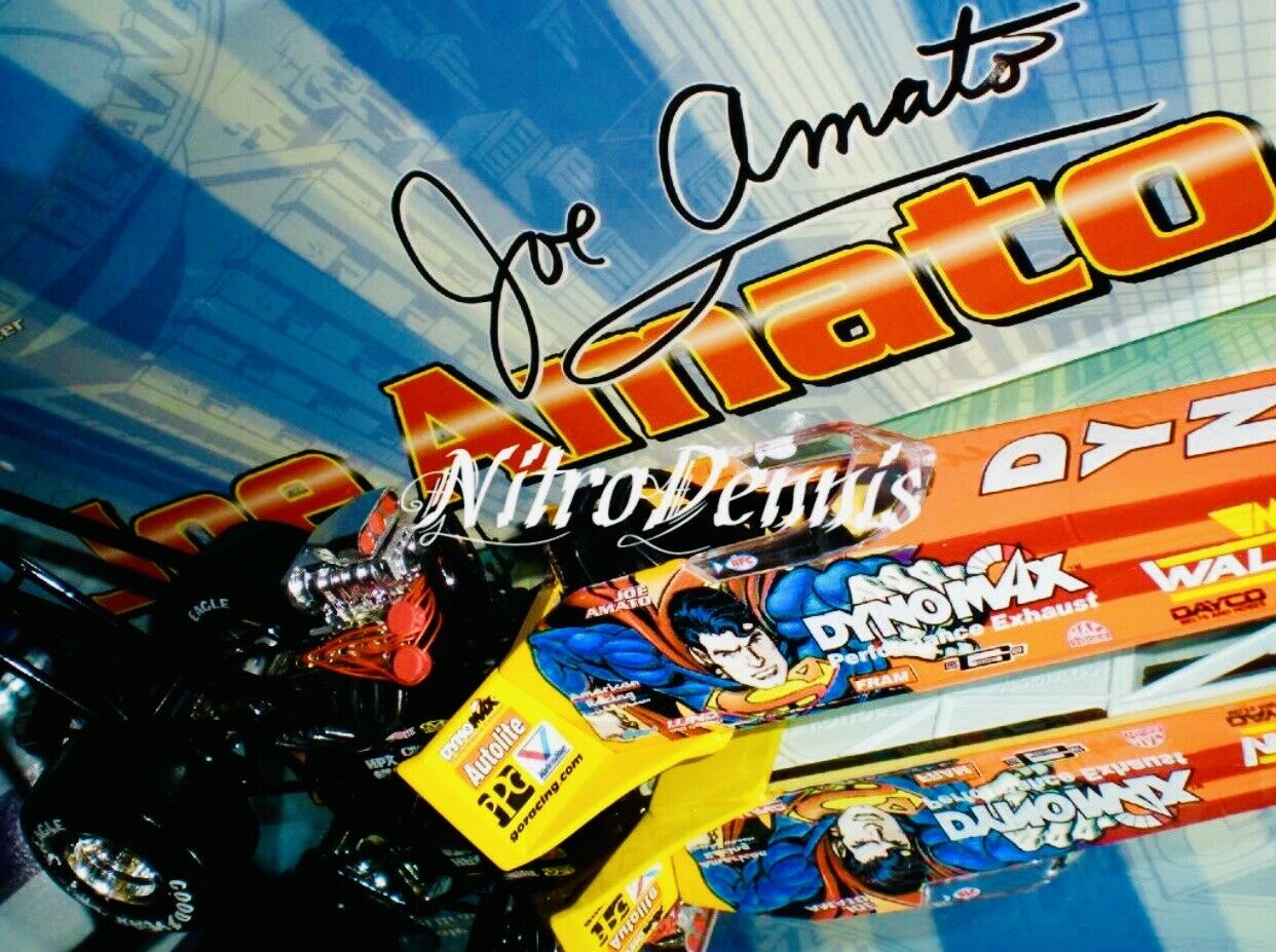 Sin impuestos Asociación Nacional de Hot Rod Joe Amato 1 24 24 24 Diecast súperman Top Fuel Nitro Dragster Drag Racing 1999  garantizado
