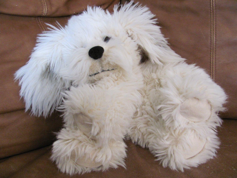 POTTERY BARN Gund Dreyfus  Floppy Shaggy Dog Plush Stuffed Animal 15