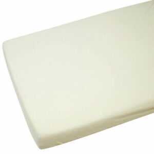 NEW Cot Bed 100/% Soft Cotton Jersey Fitted Sheet Toddler Bed Size 140cm x 70cm