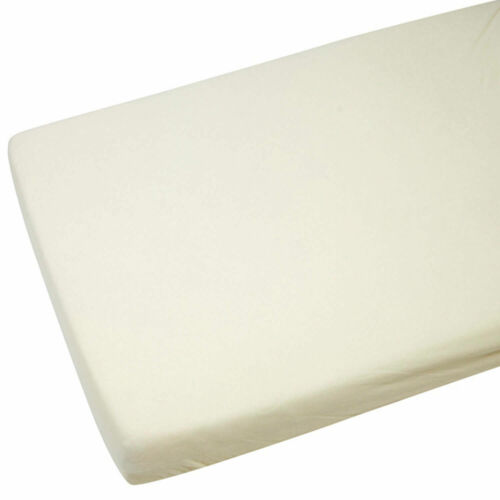 Junior Bed 100/% Cotton Jersey Fitted Sheet Size 140cm x 70cm N... Toddler Bed