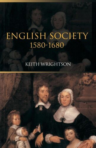 1 of 1 - English Society 1580-1680, Acceptable, Wrightson, Keith, Book