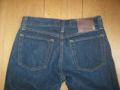 Mick Waist Raw Slim True Blue Brand 30 Boot 29 J Rise Bnwt Low Rudes Jeff T5qES