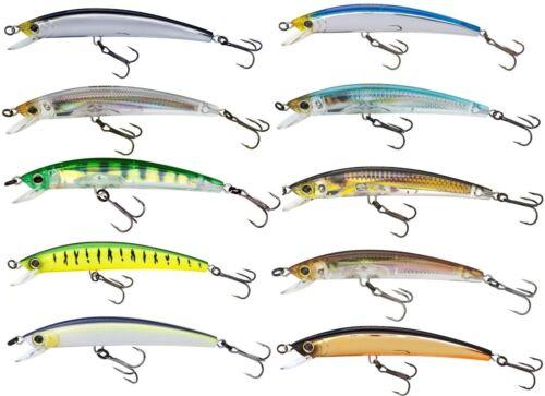 Yo-Zuri Freshwater Crystal Minnow Jerkbait Bass Pike /& Walleye Fishing Lure