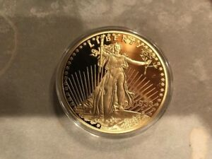 LIMITED-EDITION-24KT-GOLD-LAYERED-COMMEMORATIVE-1933-GOLD-DOUBLE-EAGLE-W-COA
