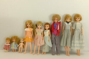 Takara-Licca-chan-doll-Vintage-Dress-up-Lot-of-9-From-Japan-A0005