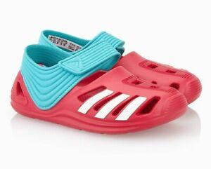 Adidas Zsandals Girls Kids Swimming Sandals Beach Shoes Pink ...