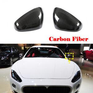 Carbon Außenspiegel Spiegelkappen Mirror Cover für Maserati GT GTS GC 2008-2016