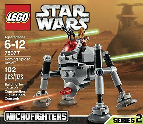 Lego, Star Wars Microfighters Serie 2, Homing Spinne Droid (75077)