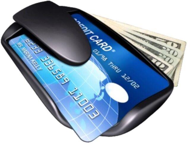 NEW SAFEPOCKET WALLET Slim Money Clip Card Holder