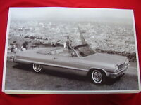 1964 Chevrolet Impala Ss Convertible 11 X 17 Photo Picture
