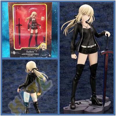 Fate//Grand Order PVC Figure NoBox 24cm Saber Altria Pendragon Black clothes ver