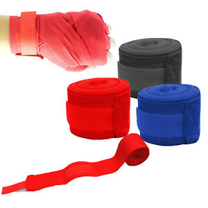1-Paar-Boxing-Hand-Wraps-Handgelenk-Schutz-Training-Faust-Stanzen-2-5M-neu