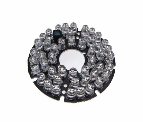 48*LED 5mm 850nm IR Infrared Panel For night verison camera lighting 12VDC