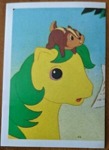Vintage My Little Pony G1 1986 Movie Lot of 8 Stickers Diamond Publishing Italy