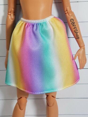 NEW MATTEL UNICORN SKIRT BARBIE FASHIONISTAS DOLL FASHION CLOTHES CURVY
